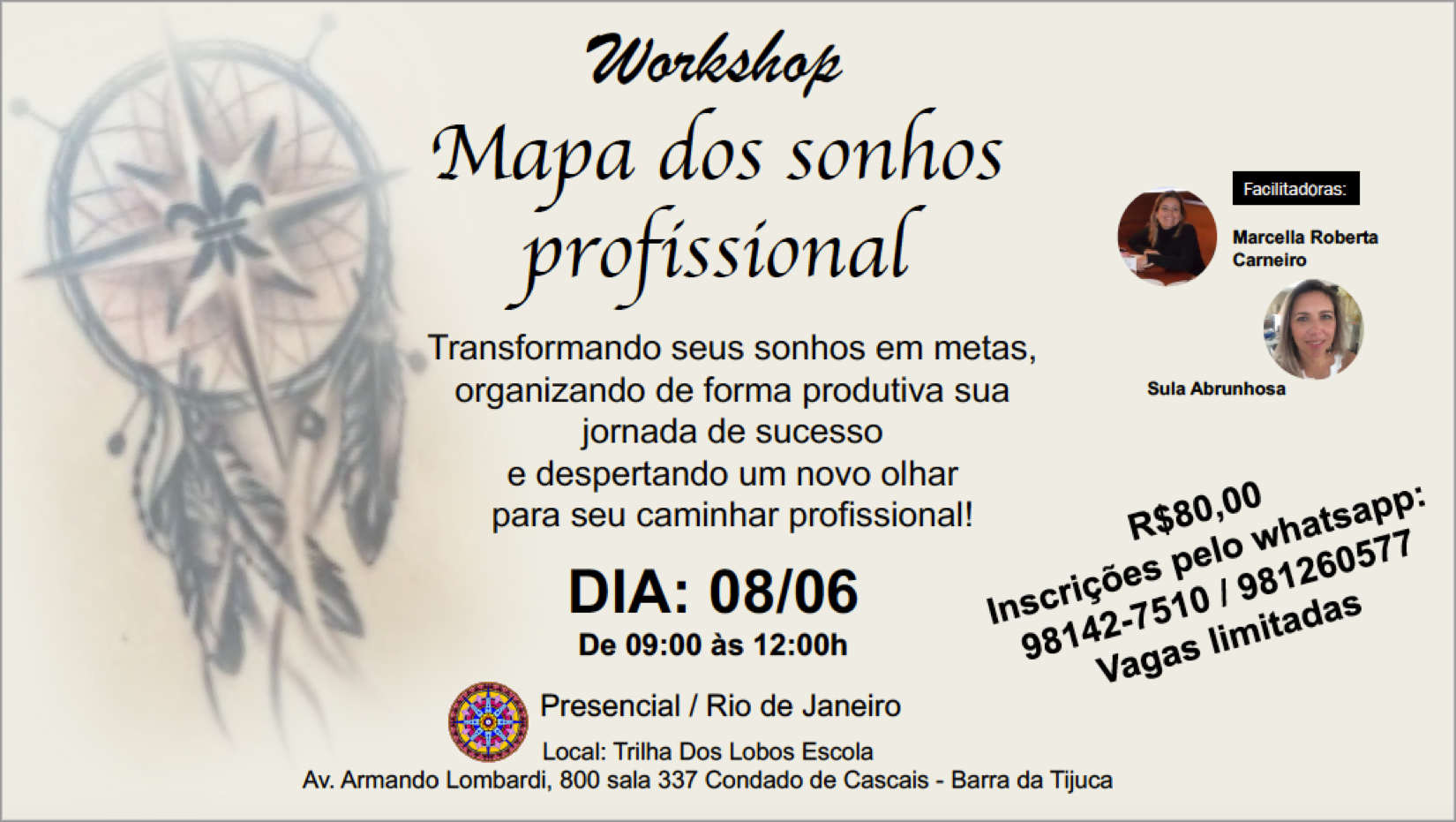 workshop mapadossonhos
